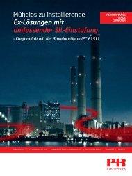 Broschüre herunterladen - PR electronics GmbH