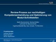 Review-Prozess zur nachhaltigen ... - HRK Nexus