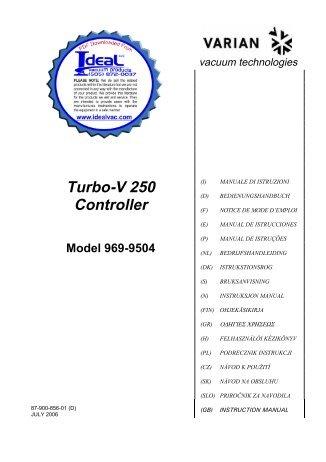Download turbo-v-250.pdf - Used Lab Equipment