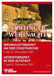Rahmenprogramm - Stadt Nürtingen