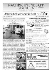 28 Umbruch_Leerumbr.qxd - Gemeinde Bisingen