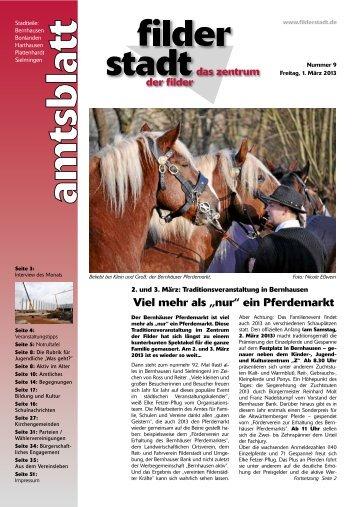 Amtsblatt KW 9.pdf - Stadt Filderstadt