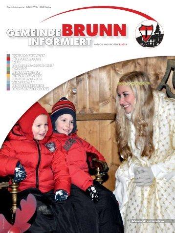 Gemeindezeitung 9/2013 - Brunn am Gebirge