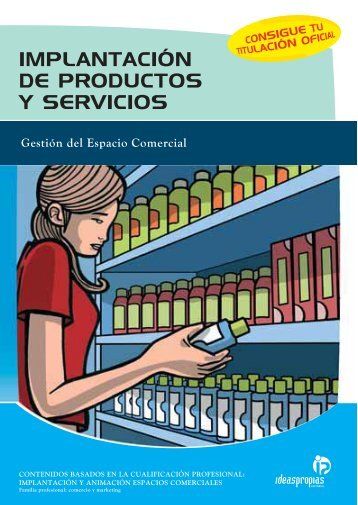 implantación de productos y servicios - Ideaspropias Editorial
