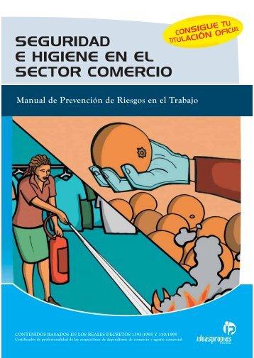 seguridad e higiene en el sector comercio - Ideaspropias Editorial