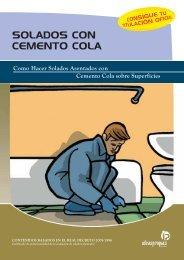 SOLADOS CON CEMENTO COLA - Ideaspropias Editorial