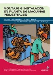 montaje e instalación en planta de máquinas industriales