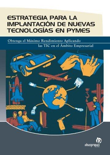 estrategia para la implantación de nuevas tecnologías en pymes