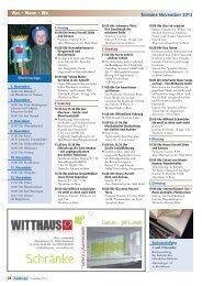 Veranstaltungskalender lesen - Rheinkiesel