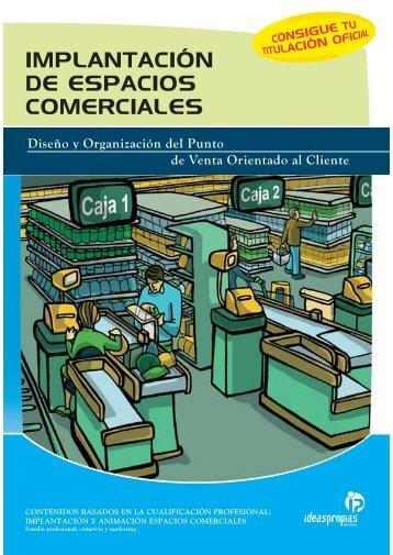 implantación de espacios comerciales - Ideaspropias Editorial