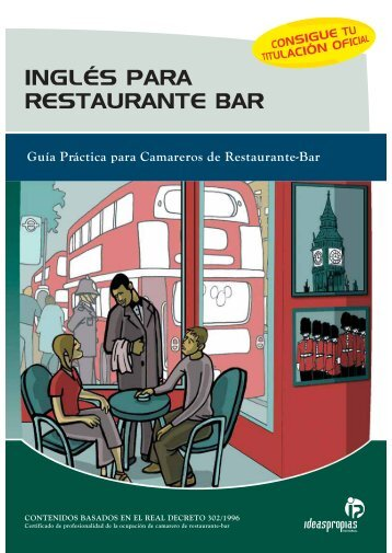 INGLÉS PARA RESTAURANTE BAR - Ideaspropias Editorial