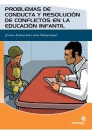problemas de conducta y resolución de conflictos en la educación ...