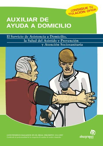 AUXILIAR DE AYUDA A DOMICILIO - Ideaspropias Editorial