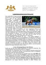Bericht von der Quali Hofgut Allerer 30.06.2012 - Bayerischer Reit
