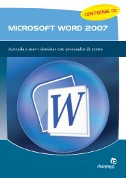 MICROSOFT WORD 2007 - Ideaspropias Editorial