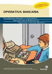 OPERATIVA BANCARIA - Ideaspropias Editorial