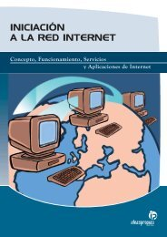INICIACIÓN A LA RED INTERNET - Ideaspropias Editorial