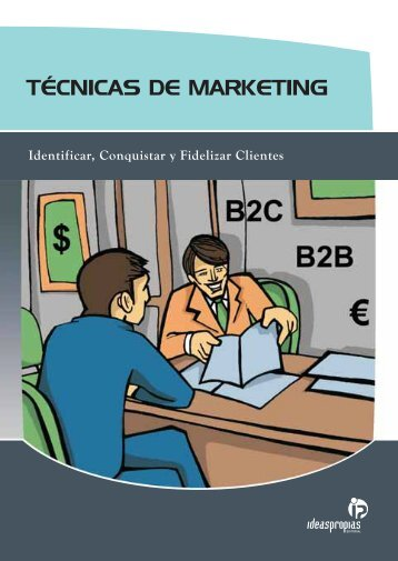 TÉCNICAS DE MARKETING - Ideaspropias Editorial