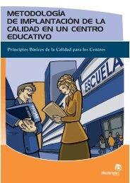 metodología de implantación de la calidad en un centro educativo