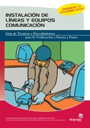 instalación de líneas y equipos comunicación - Ideaspropias Editorial