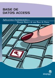 BASE DE DATOS ACCESS - Ideaspropias Editorial