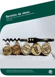 Servicio de vinos - Ideaspropias Editorial