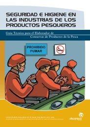 seguridad e higiene en las industrias de los productos pesqueros