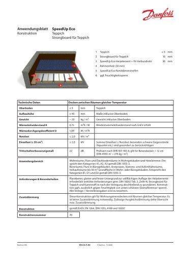Anwendungsblatt speedup strongboard f r fliesen und laminat - Teppich rollstuhlgeeignet ...
