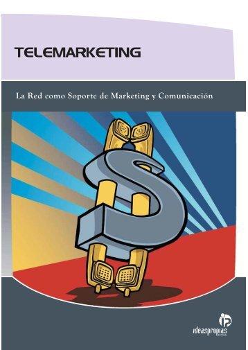 TELEMARKETING - Ideaspropias Editorial