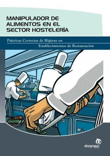 manipulador de alimentos en el sector hostelería - Ideaspropias ...
