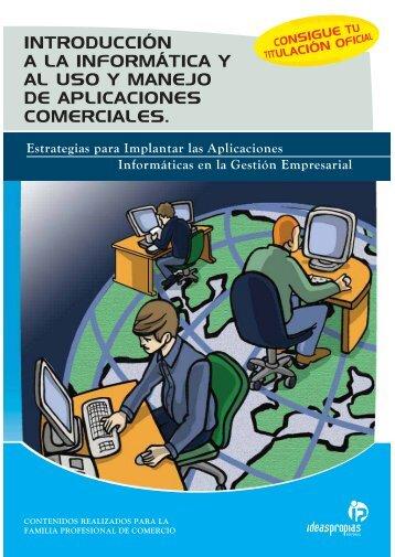 introducción a la informática y al uso y manejo de aplicaciones ...