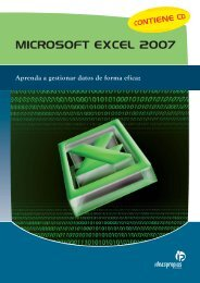 MICROSOFT EXCEL 2007 - Ideaspropias Editorial
