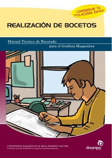 REALIZACIÓN DE BOCETOS - Ideaspropias Editorial