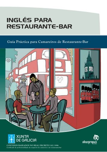 INGLÉS PARA RESTAURANTE-BAR - Ideaspropias Editorial