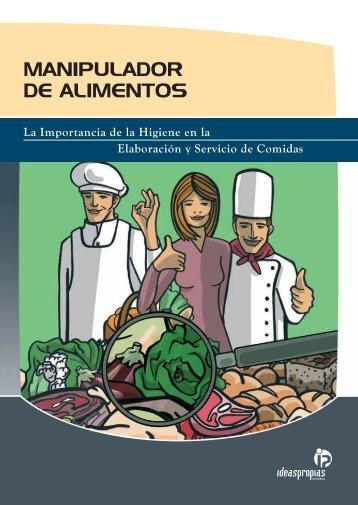 MANIPULADOR DE ALIMENTOS - Ideaspropias Editorial