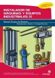 instalador de máquinas y equipos industriales - Ideaspropias Editorial