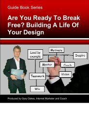 Special Report Are You Ready To Break Free? Building A Life Of ...