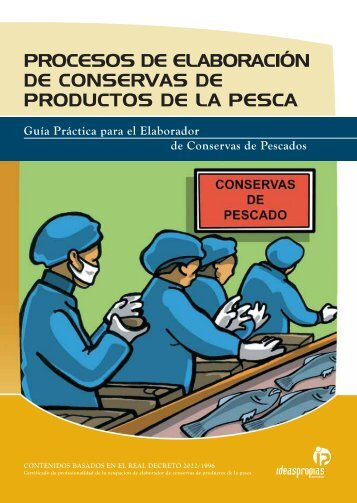 procesos de elaboración de conservas de productos de la pesca