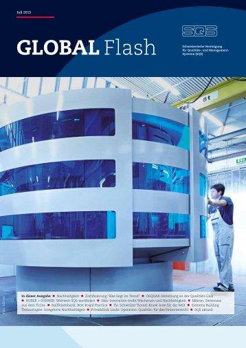 GLOBAL Flash, Ausgabe Juli 2013 - SQS