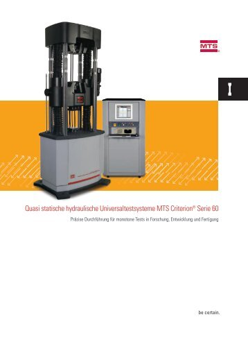 MTS Criterion Serie 60