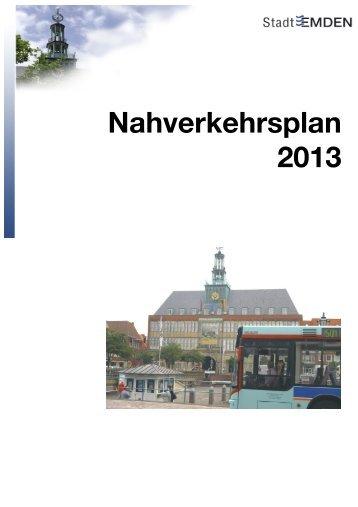 NVP 2013 Stand nach Beteiligung 14.03.13 - Stadt Emden