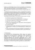 NVP 2013 Stand nach Beteiligung 14.03.13 - Stadt Emden - Page 6