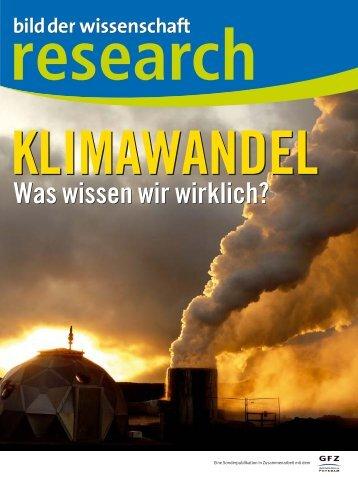 Klimawandel - Was wissen wir wirklich?
