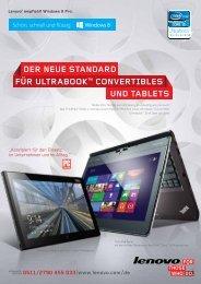 """Der neue stanDarD fÃœr ultraBookâ""""¢ ConVertiBles unD ... - stepIT.net"""