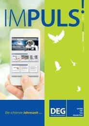 IMPULS! Sommer Magazin 2013 - Deutsche Elektro Gruppe