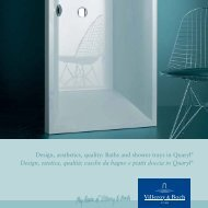 Design, aesthetics, quality: Baths and shower trays in Quaryl ...