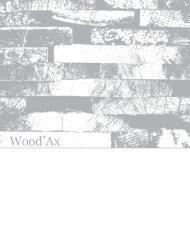 Wood'Ax - IdeeArredo - Idee per arredare la casa