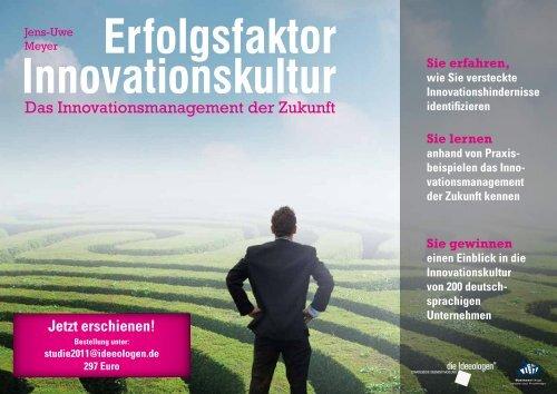 Erfolgsfaktor Innovationskultur - Die Ideeologen