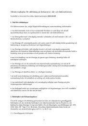 Studieplan för forskarutbildningen - Institutionen för idé- och ...