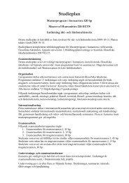 Avancerad Nivå - Institutionen för idé- och lärdomshistoria - Uppsala ...